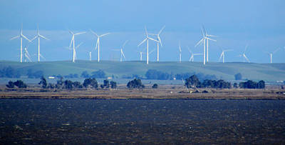 Photograph - Wind Farm On The Delta by Bonnie Muir
