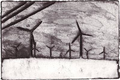 Wind Farming Art Print by Taylor Lee Bisbee