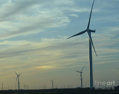Photograph - Wind Generators by Donna Brown