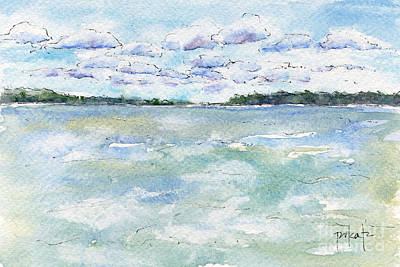 Painting - Wind On The Water by Pat Katz