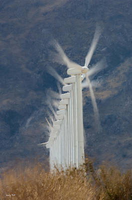 Photograph - Wind Power by Gary Rose