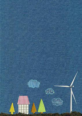 Y120831 Photograph - Wind Power Generation Image by sozaijiten/Datacraft