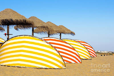Algarve Wall Art - Photograph - Wind Shields by Carlos Caetano