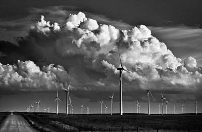 Art Print featuring the photograph Wind Storm by Brian Duram
