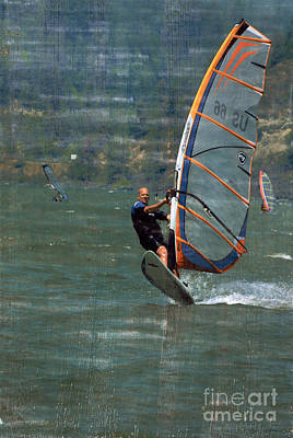 Photograph - Wind Surfer by Bob Senesac