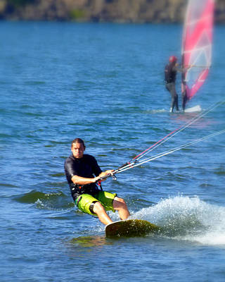 Photograph - Wind Surfer by Cindy Wright
