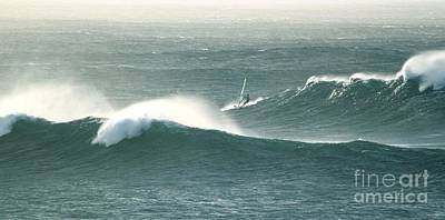 Photograph - Wind Surfing Power Waves by Terri Thompson