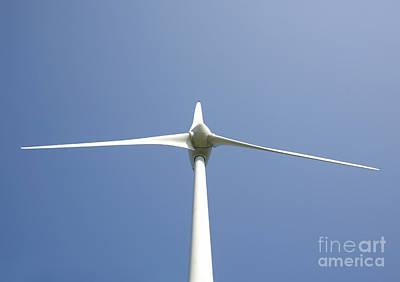 Wind Turbine Art Print by Jaak Nilson
