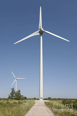 Wind Turbines Art Print by Jaak Nilson