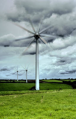 Bicycle Graphics - Wind Turbines by Steve Purnell