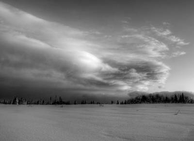 Art Print featuring the photograph Windblown Cloud by Michele Cornelius