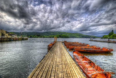 Photograph - Winderemere Jetty by Yhun Suarez