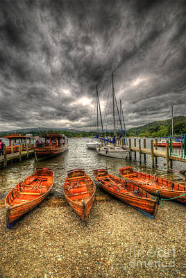 Photograph - Windermere Boats 2.0 by Yhun Suarez