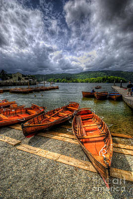 Photograph - Windermere Boats by Yhun Suarez