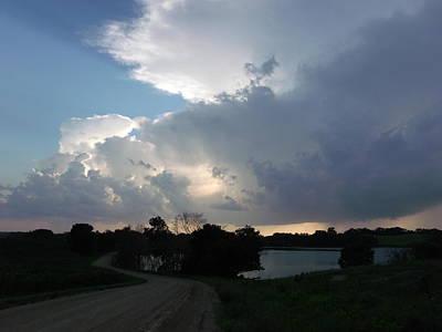 Winding Lake Road Original by Brian  Maloney