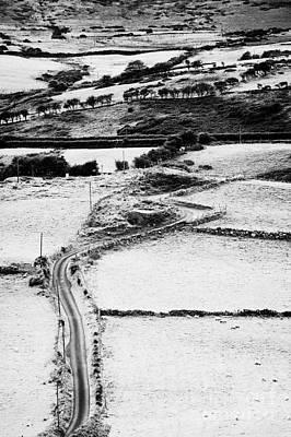 Laneway Photograph - Winding Road Irish Countryside by Joe Fox