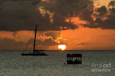 Photograph - Windless Sunset by Rene Triay Photography