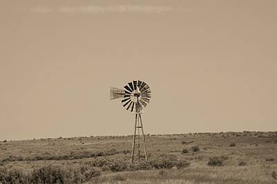 Photograph - Windmill by Angi Parks