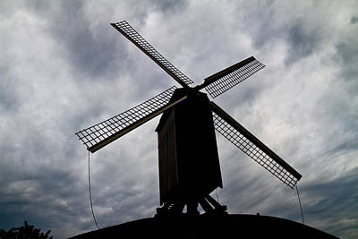Photograph - Windmill by David Freuthal