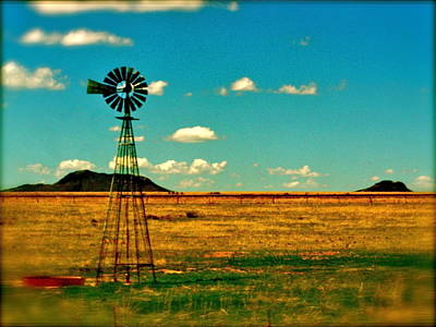 Photograph - Windmill Dreams by Amber Hennessey
