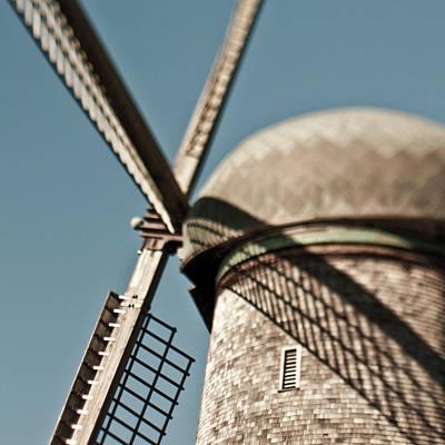 Windmill Art Print by Eddy Joaquim