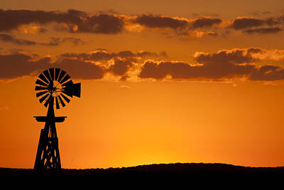 Windmill Silhouette 3 Original