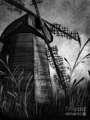 Windmill Wounded Art Print