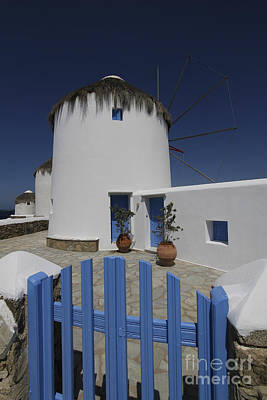 Photograph - Windmills Of Mykonos by Dennis Hedberg