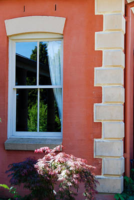 Photograph - Window And House Corner by Fran Woods