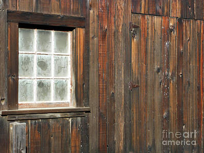 Window At China Camp Art Print by Methune Hively