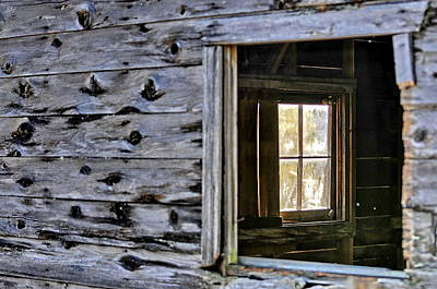 Photograph - Window Frame by Sandra Sigfusson