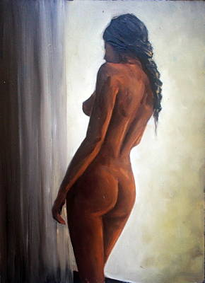 Painting - Window Light by Natalia Tejera