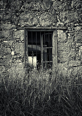 Window Of Memories Print by Stelios Kleanthous