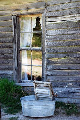 Window On Prairie Life Art Print