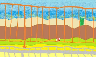 Painting - Window Seascape by Anita Dale Livaditis