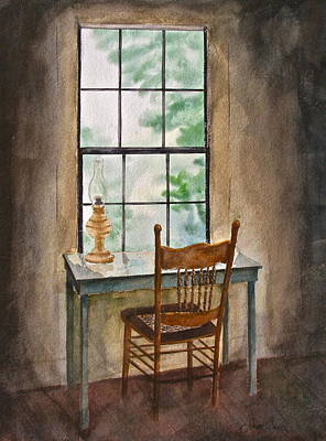 Window Seat Art Print by Frank SantAgata