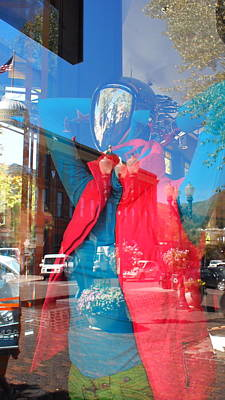 Window Shopping In Aspen Art Print