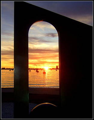 Photograph - Window To The Bay by Satya Winkelman