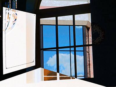 Window Treatment Print by Lenore Senior