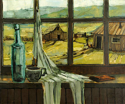 Painting - Window Upon The Past by Steve Spencer
