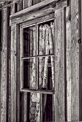 Window View Art Print