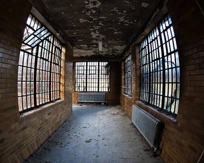 Window Walkway Original by Roni Chastain