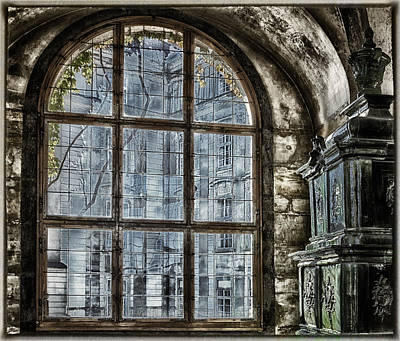 Prague Castle Photograph - Window With A View by Joan Carroll
