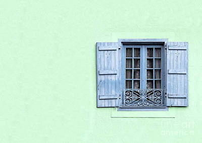 Lace Photograph - Window With Copy Space by Jane Rix