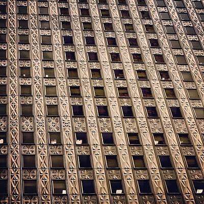 Manhattan Photograph - Windows - Ny by Joel Lopez
