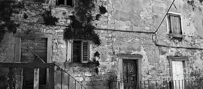 Art Print featuring the photograph Crumbling In Croatia by Andy Prendy
