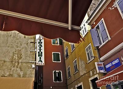Windows In Venice Print by Madeline Ellis