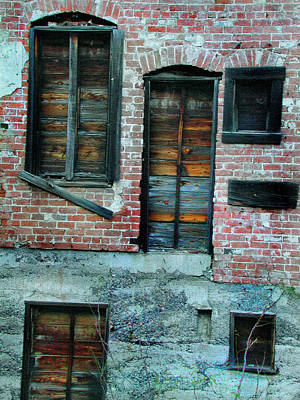 Photograph - Windows by Marilyn Marchant