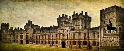 Photograph - Windsor Castle Upper Ward by Yhun Suarez