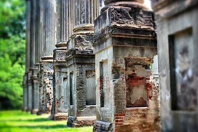 Print featuring the photograph Windsor Ruins 1 by Jim Albritton